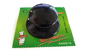 Gloss Black Universal Glass Lid Replacement Knobs Cover