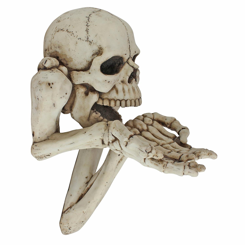 超可爱の Design Toscano Beggar for Wall Souls ホワイト Skeleton Wall Sculpture B012O766E0 B012O766E0 ホワイト, 箕面市:b69c910e --- arcego.dominiotemporario.com