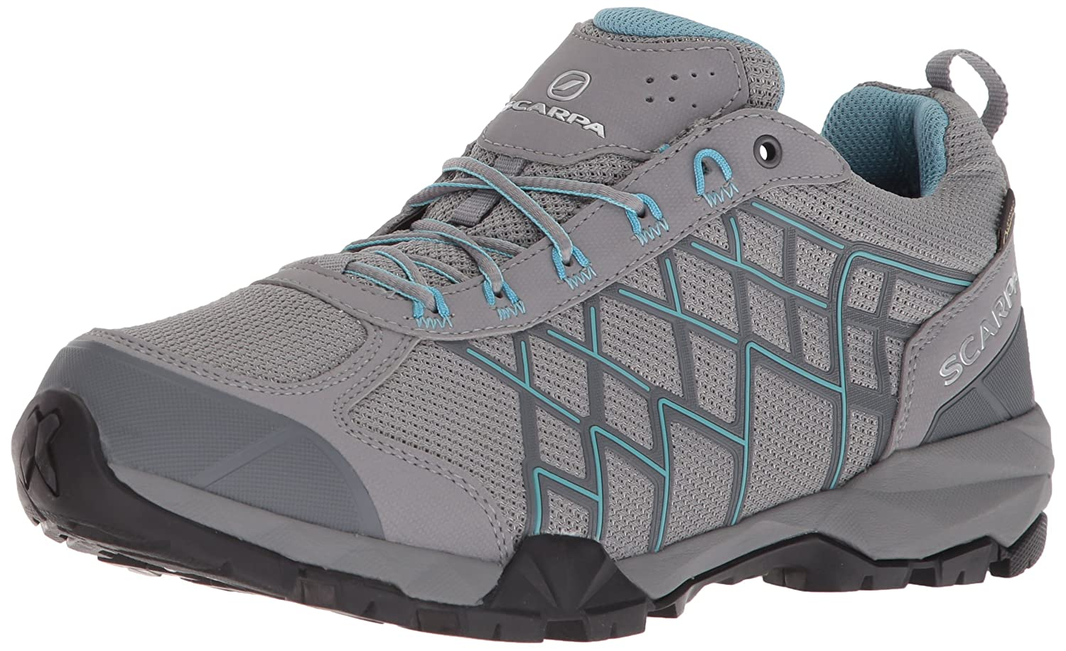 SCARPA レディース B074QT32RZ 40.5 Regular EU (US W 8.5-9, UK 6.5-7 US)|Mid Grey/Still Water Mid Grey/Still Water 40.5 Regular EU (US W 8.5-9, UK 6.5-7 US)