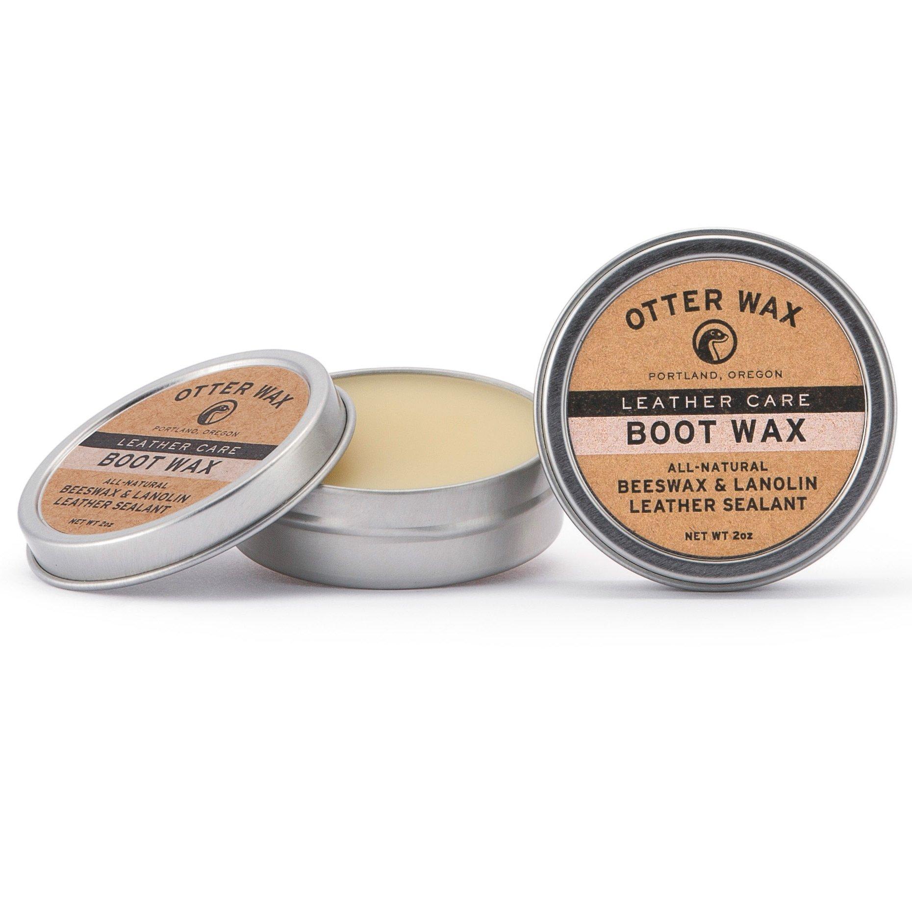 Otter Wax Boot Wax   2 oz   Impermeabilizante de cuero total