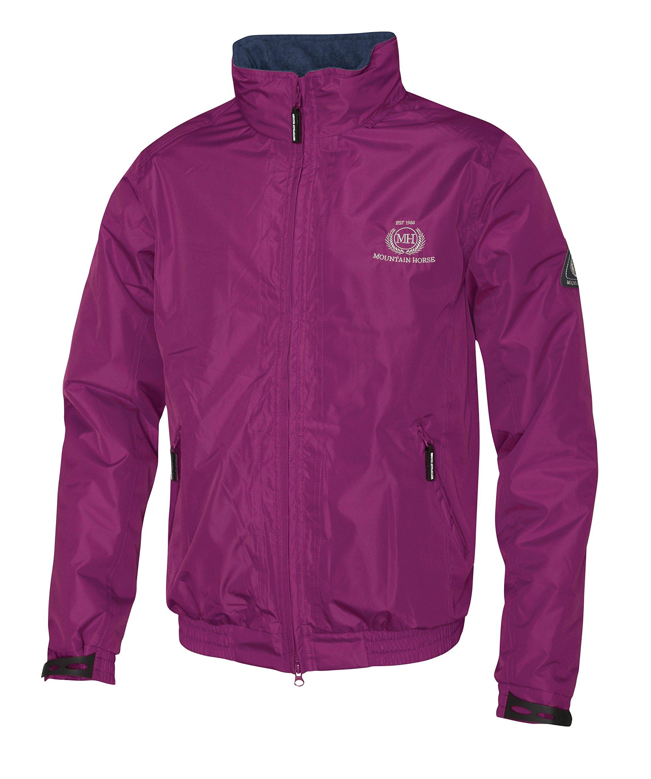 Mountain Horse Women's Crew Jacket Ii Purple Large US
