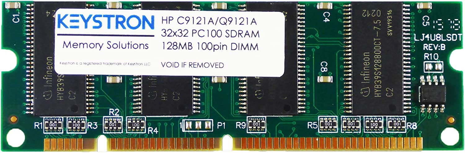 HP C9121A Q7709A 128MB 100 pin SDRAM Memory DIMM for HP Laserjet 4200 4200n 4200tn 4200dtn 4200dtns 4200dtnsl