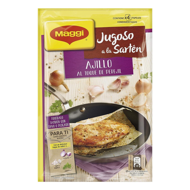 Maggi Jugoso Sartén Ajillo - 23.7 gr: Amazon.es: Alimentación y ...