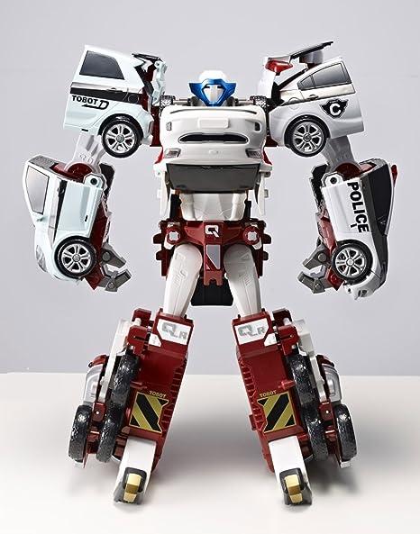 Amazoncom Tobot Quadrant 4 Copolymers Transformer Robot Diecast