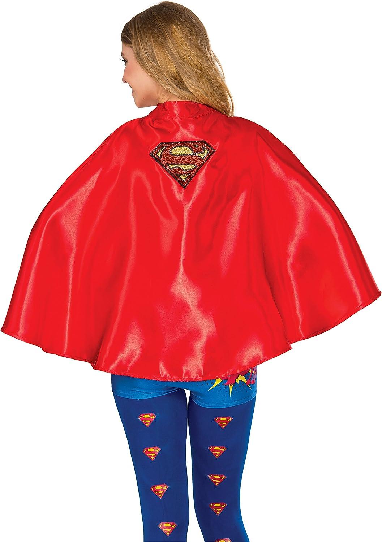 Rubie's Costume Co Women's DC Superheroes Cape, Supergirl: Clothing