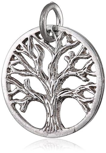 Silber anhänger  Materia Schmuck 925 Silber Kettenanhänger Baum Tree of Life ...