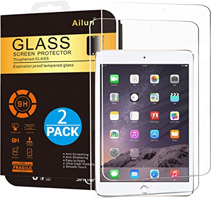 Pack of 2 Apple Ipad Air 2 Real Tempered Glass Temper Glass Protector