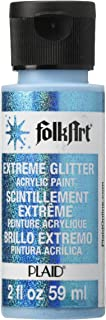 product image for FolkArt Extreme Glitter Acrylic Paint in Assorted Colors (2 oz), 2790, Turquoise
