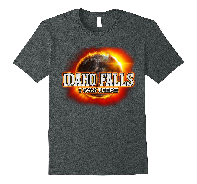 Idaho Falls Total Solar Eclipse Event T Shirt 21 Aug 2017-CL