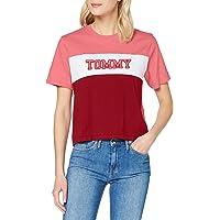Tommy Hilfiger Tjw Colorblock Stripe tee Camisa para Mujer