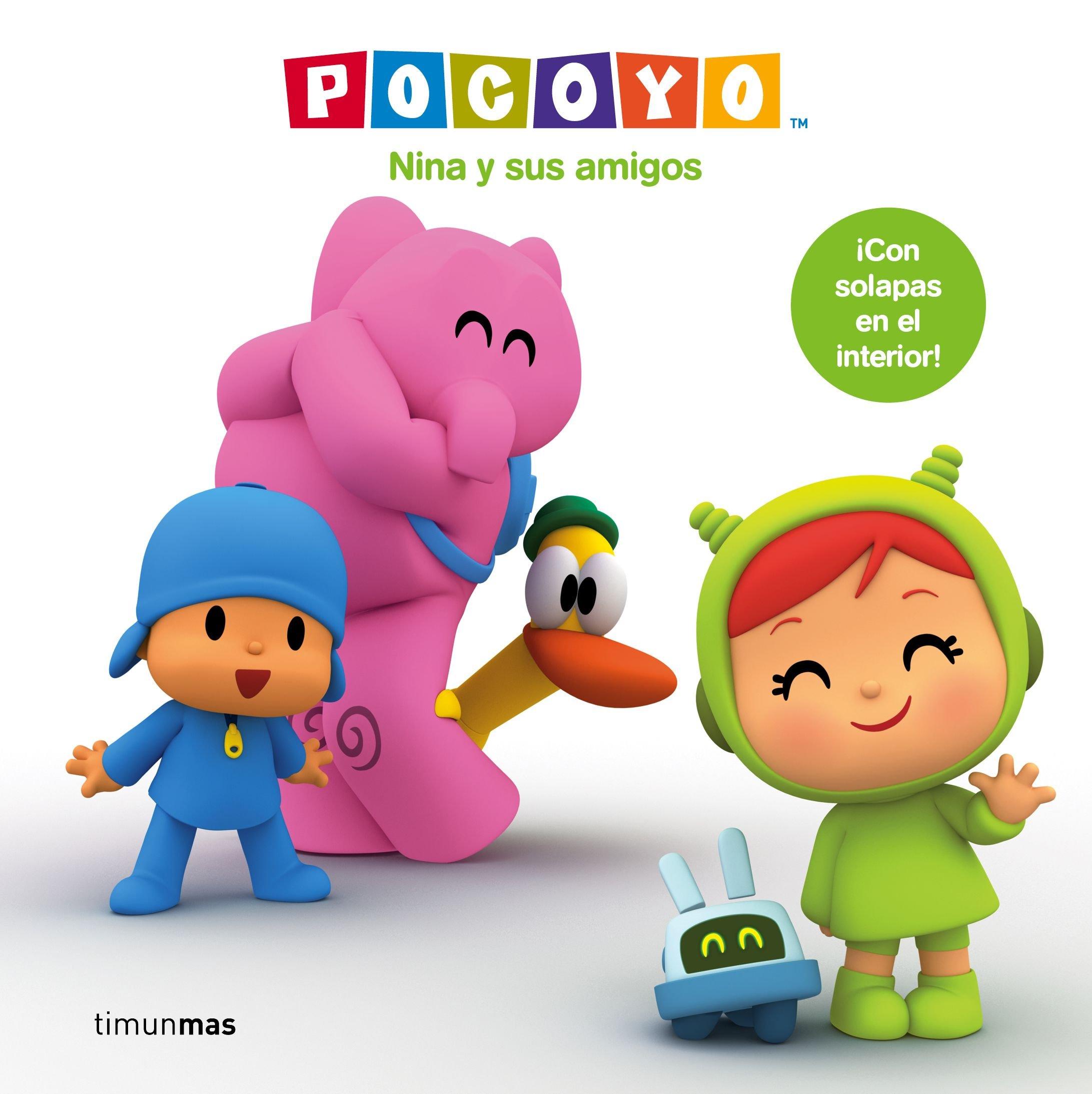 Pocoyó. Nina y sus amigos: ¡Con solapas en el interior! Pocoyo: Amazon.es: Zinkia Entertainment S. A.: Libros