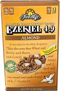 Food For Life, Cereal Ezekiel 49 Almond Organic, 16 Ounce