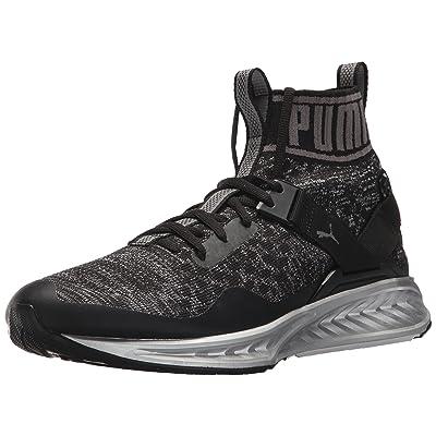 PUMA Men's Ignite Evoknit Nc Sneaker, Puma Black-Quiet Shade-Quarry, 11 M US | Fashion Sneakers