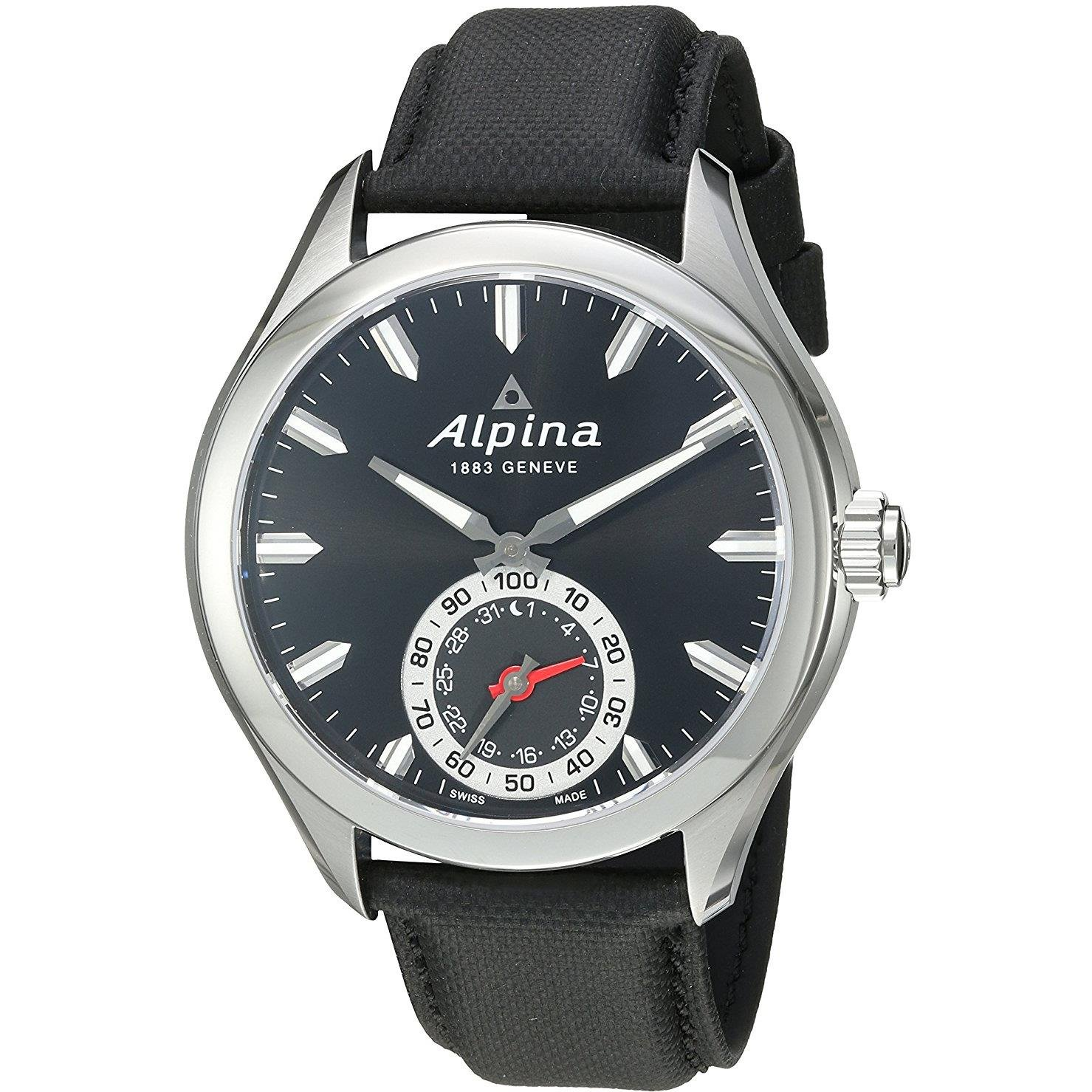 Alpina Reloj de Cuarzo Man Horological Smartwatch 44 mm: Amazon.es ...