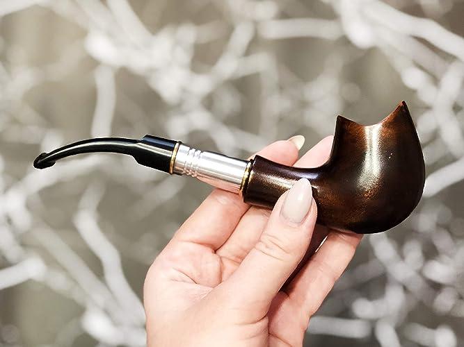 Amazon com: Smoking Wooden Pipe Tobacco Smoking Pipe for