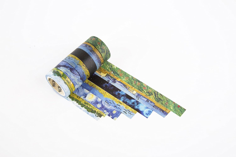 和紙テープ使用for Festive装飾、背景装飾、装飾絵画、クリスマス、誕生日装飾 Size D zx0000734 B076F3ZHNC Size D  Size D