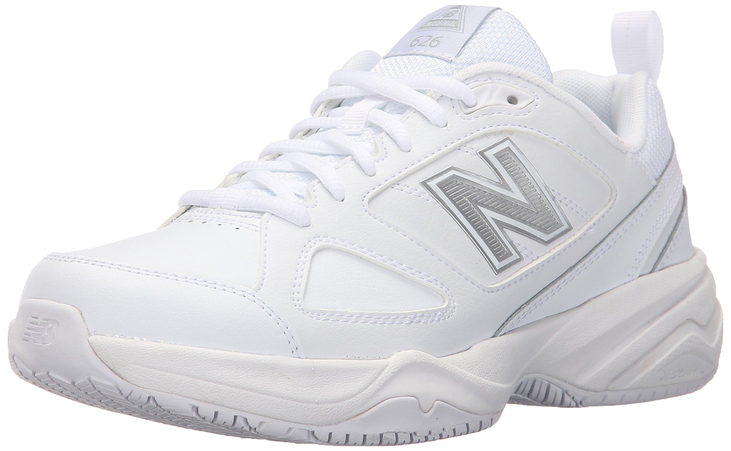 New Balance Women's WID626v2 Work Training Shoe, White, 12 D US