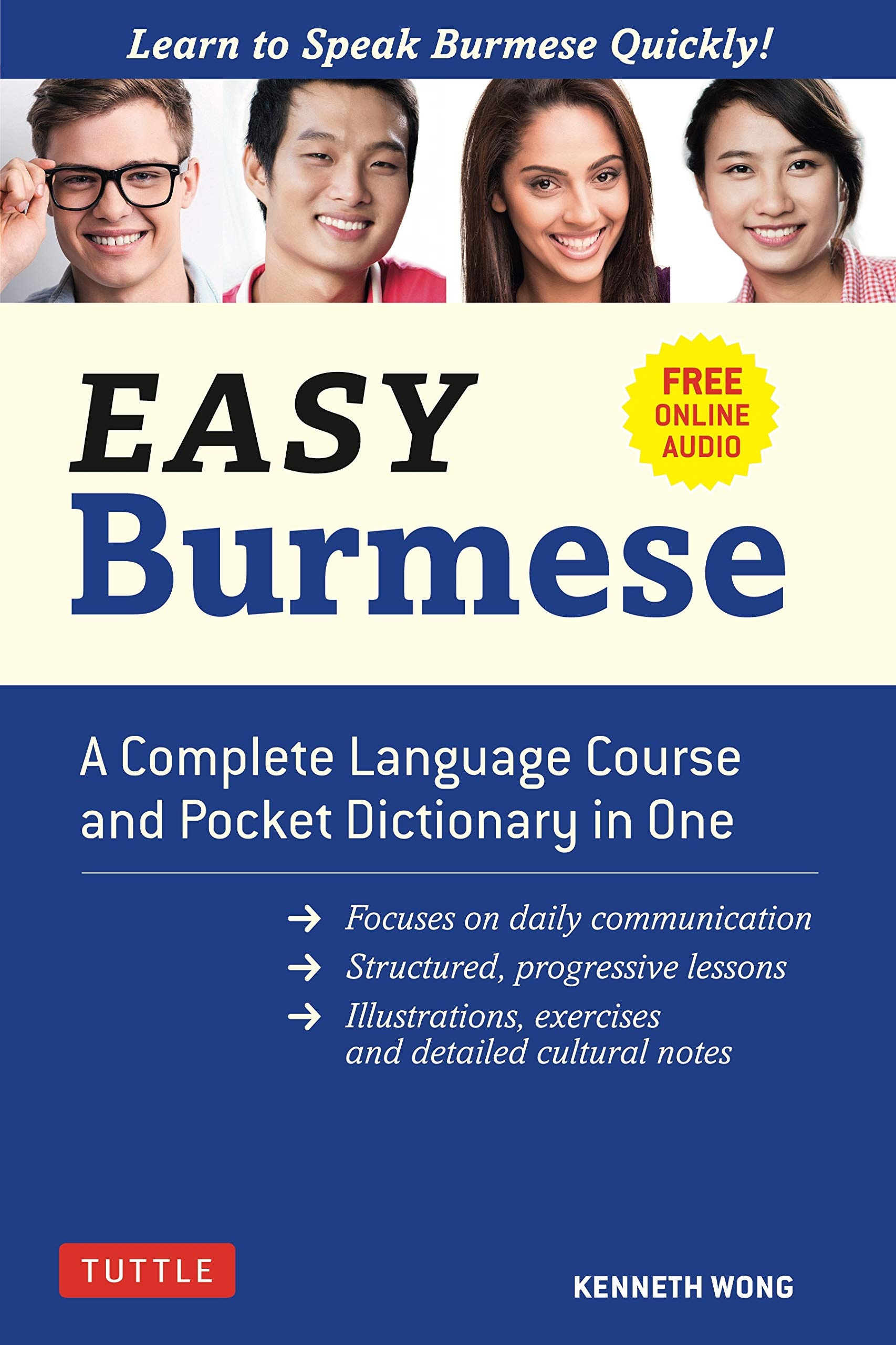 6cc7891293 Easy Burmese  A Complete Language Course and Pocket Dictionary in One  (Fully Romanized