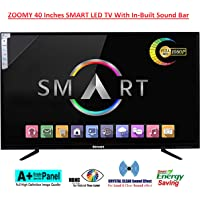 ZOOMY 102 cm (40 Inches) Full HD Smart LED TV 40SMARTSB (Black) (2019 Model)
