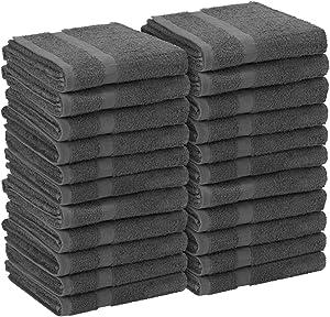 Simpli-Magic 79235 Gray Hand Towels, 16