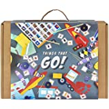 THINGS THAT GO! 3-in-1 Experimental DIY Kit for Boys: Contains 3 activities - mix of assembly and experiments