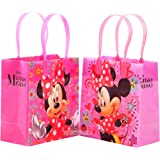 Disney Minnie Mouse Premium Quality Party Favor Goodie Small Gift Bags 12
