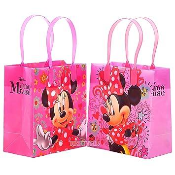 Amazon.com: Disney Minnie Mouse Calidad Premium Party Favor ...