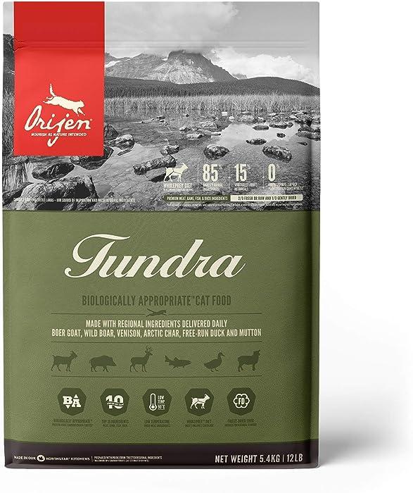 ORIJEN Tundra High-Protein, Grain-Free, Premium Quality Meat, Dry Cat Food