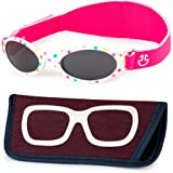 Baby Sunglasses with Strap - Infant Sunglasses, Toddler Boy & Girl 0-12 month - Age 3, UV 400