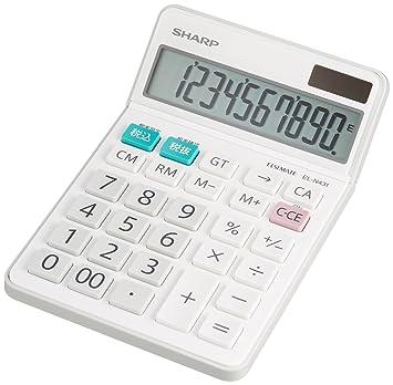 シャープ 電卓 シャープ ナイスサイズタイプ 10桁 EL,N431,X