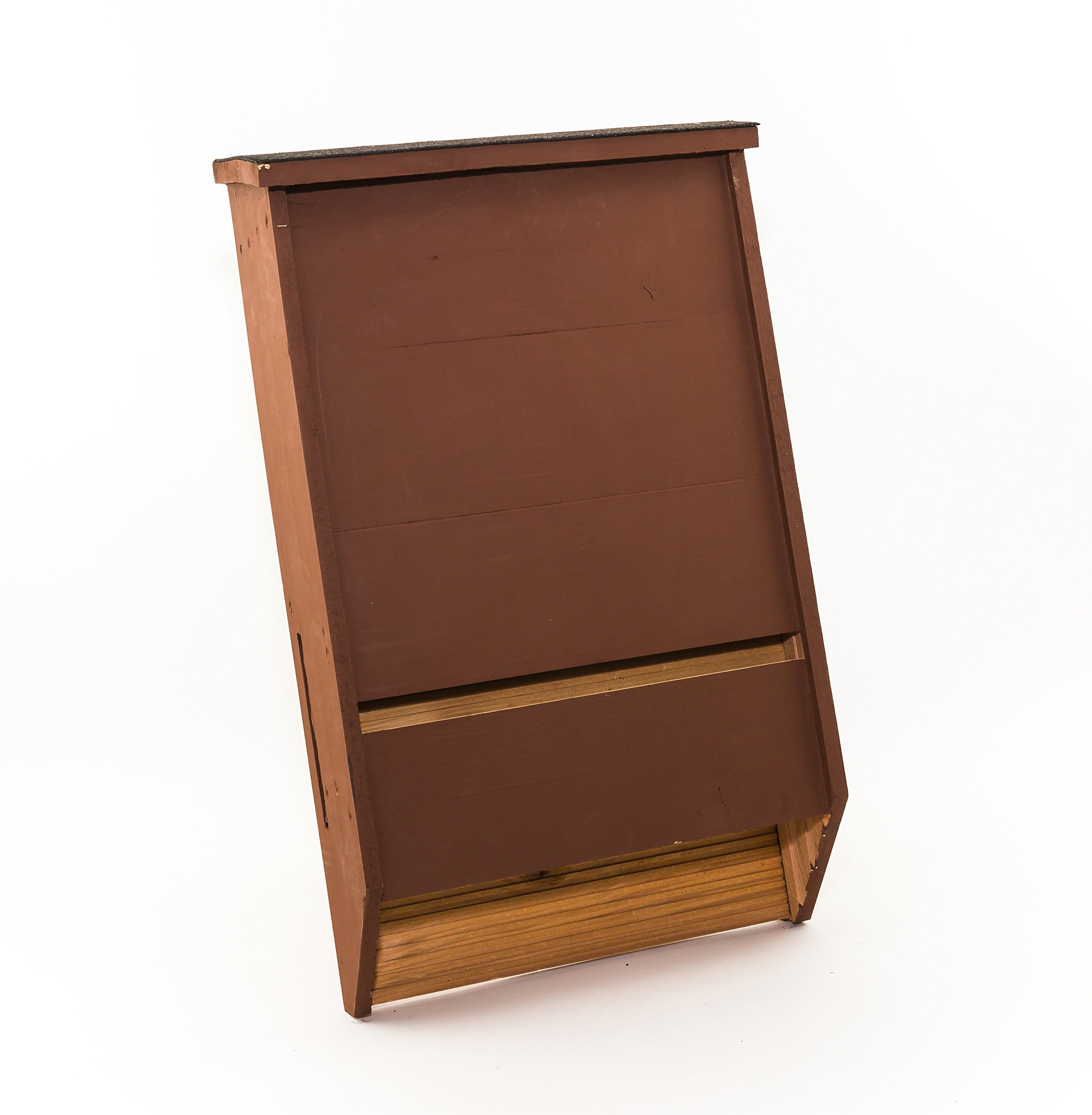 BCI Certified Triple Chamber bat House (Brown) by Big Bat Box (Image #1)