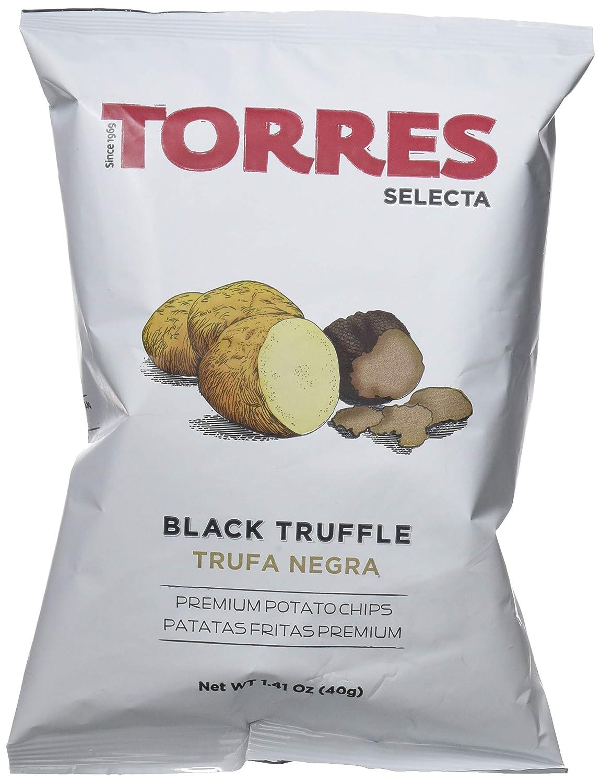 Torres Patatas Fritas con Trufa Negra - 20 Bolsas: Amazon.es ...