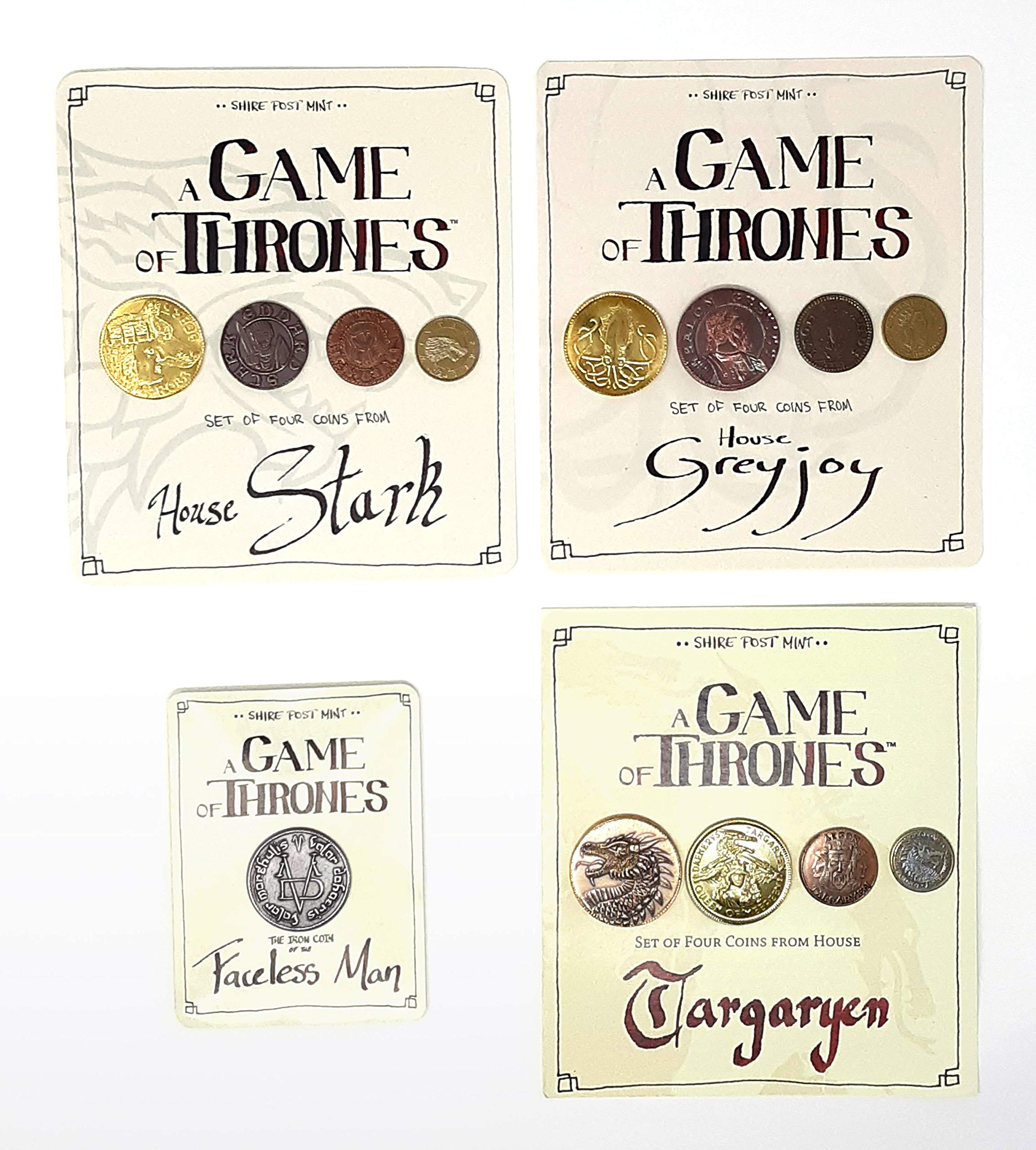 Shire Post Mint Game of Thrones Coin Collection