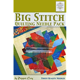 Colonial Needle CN-PC-2 Big Stitch Quilting Needle Pack by Pepper Cory