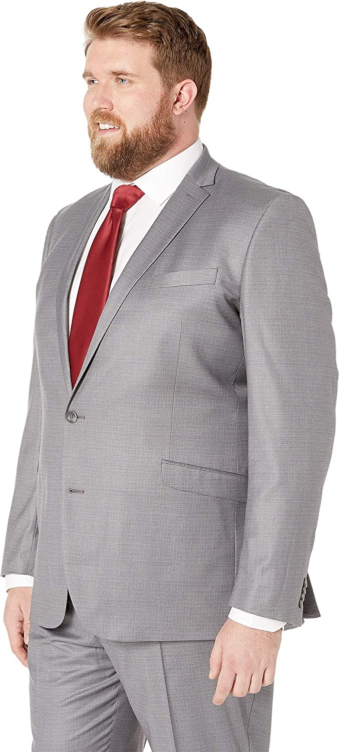 Kenneth Cole REACTION Mens Big /& Tall Performance Stretch Suit