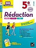 Rédaction 5e: cahier d'entraînement et de révision