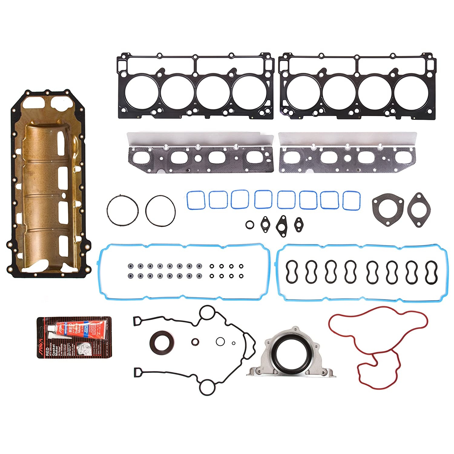 Evergreen 9-30157L Full Gasket Set