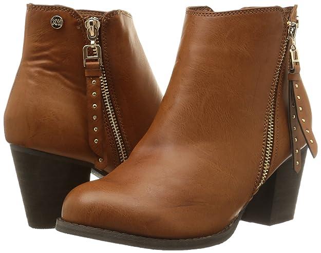 XTI Women's 28408 Unlined classic boots half length Beige Size: 7 UK (40  EU): Amazon.co.uk: Shoes & Bags