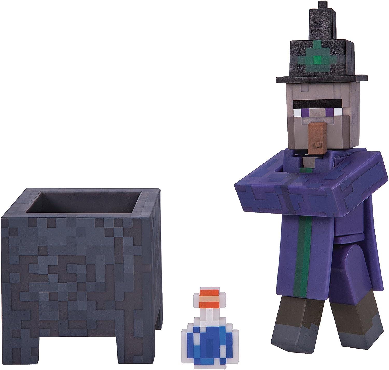 Minecraft monocromo - bruja (Se distribuye desde el Reino Unido): Amazon.es: Juguetes y juegos