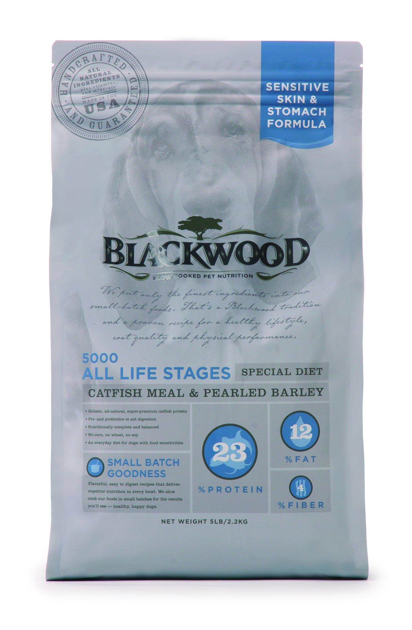 Blackwood Pet Food 22257 All Life Stages, Special Diet, Sensitive Skin, Catfish Meal & Pearled Barley, 30lb.