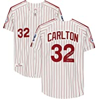 """$349 » Steve Carlton Philadelphia Phillies Autographed White 1976 Mitchell & Ness Authentic Jersey with""""HOF 94"""" Inscription - Autographed MLB…"""