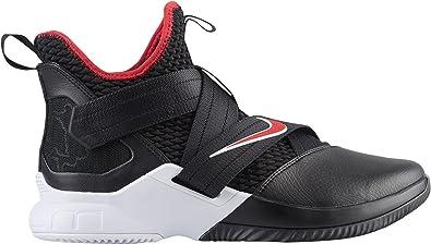 impulso Órgano digestivo Dos grados  Amazon.com | Nike Men's Zoom Lebron Soldier XII Basketball Shoes (13,  Black/Red/White) | Basketball