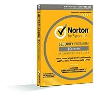 Norton Security Premium 2018   10 Geräte   1 Jahr   PC/Mac/iOS/Android   Download