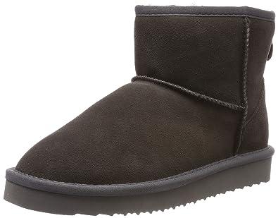 BLACK Damen 264 532 Schlupfstiefel  Amazon.de  Schuhe   Handtaschen e837cdc374