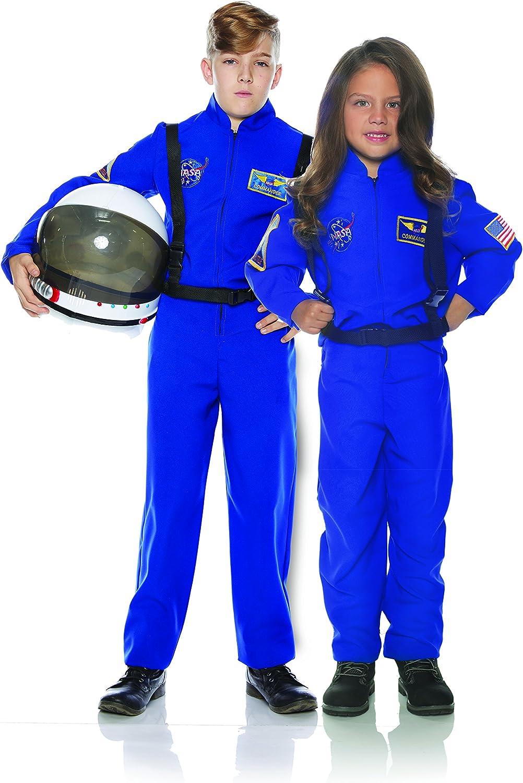 UNDERWRAPS Kid's Children's Astronaut Flight Suit Costume