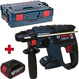 Bosch Akku-Bohrhammer mit Meißelfunktion GBH 18 V-EC solo in der L-Boxx Gr. 2 mit Einlage + AKKU 4.0 AH