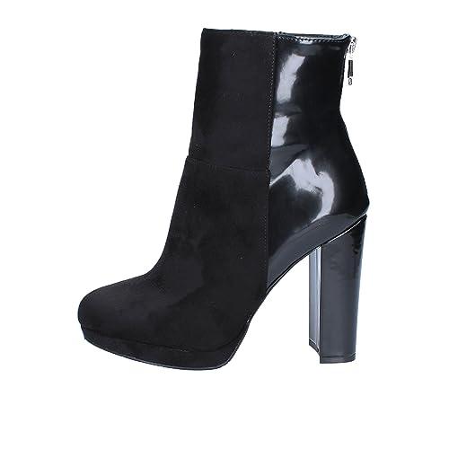 EuAmazon Complementos Size39 esZapatos Negro Mujer Botas Gaudi Y J1KcFl