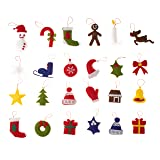 Good Ruby Felt Advent Calendar for Kids, Hanging
