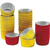 Kaiser Alu-Pralinenförmchen 30 Stück Ø 2,5 cm Pâtisserie hohe Formstabilität und Flexibilität einfaches Herauslösen sehr ohne Qualität aus Aluminium