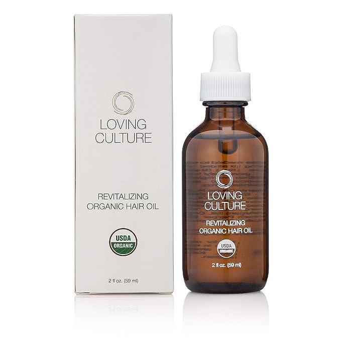 Loving Culture Revitalizing USDA Organic & Vegan Hair Growth Oil